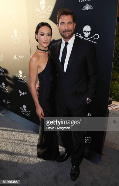Actors Maggie Q and Dylan McDermott attend Shepherd Conservation Society's 40th Anniversary Gala For The Oceans at Montage Beverly Hills on June 10...