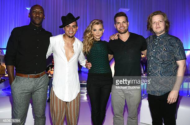 Actors Mahershala Ali, Evan Ross, Natalie Dormer, Wes Chatham, and Elden Henson attend Samsung and Lionsgate premiere of the first official teaser...