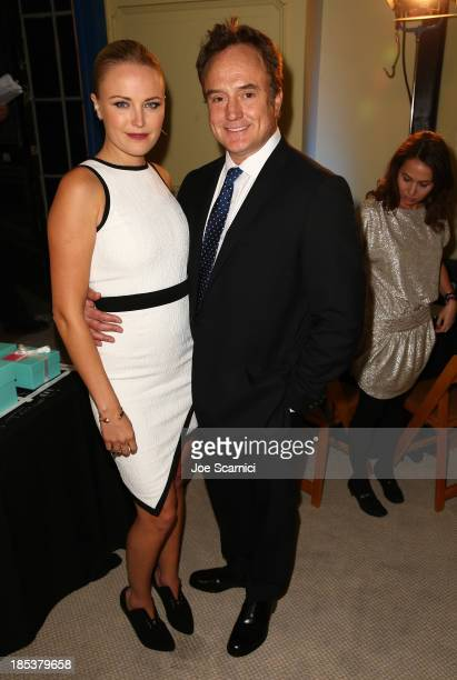 Actors Malin Akerman and Bradley Whitford attend the 23rd Annual Environmental Media Awards presented by Toyota and Lexus at Warner Bros Studios on...