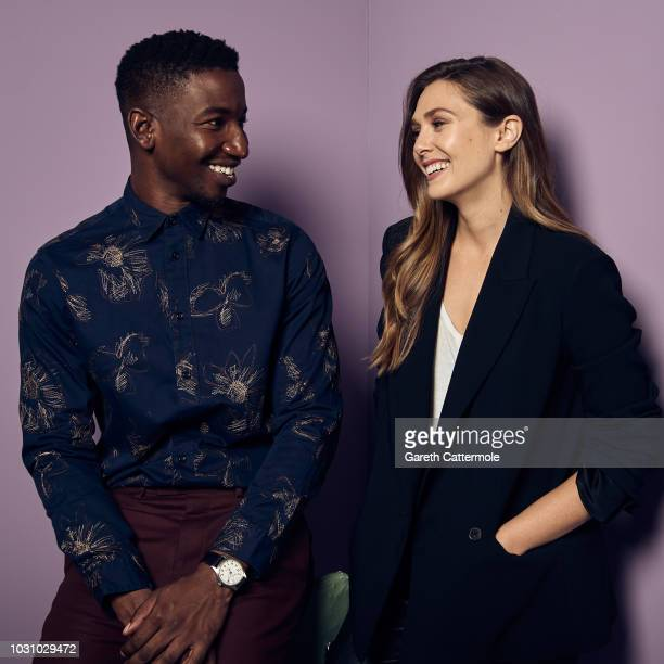 Actors Mamoudou Athie and Elizabeth Olsen from the series 'Sorry for Your Loss' pose for a portrait during the 2018 Toronto International Film...