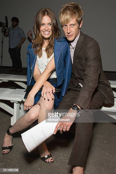 Actors Mandy Moore and Gabriel Mann attend the Billy Reid show during Spring 2013 MercedesBenz Fashion Week at Eyebeam on September 7 2012 in New...