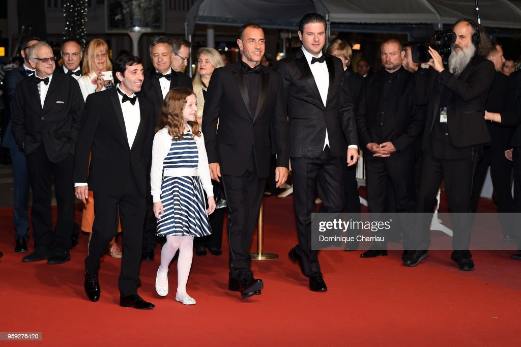 """Dogman"" Red Carpet Arrivals - The 71st Annual Cannes Film Festival"