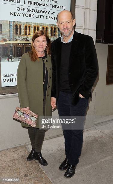 Actors Mare Winningham and Anthony Edwards attend the 'Airline Highway' Broadway opening night at Samuel J Friedman Theatre on April 23 2015 in New...