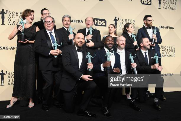 Actors Margaret Colin Kevin Dunn Nelson Franklin Gary Cole Dan Bakkedahl Sarah Sutherland Clea DuVall and Timothy Simons Paul Scheer Sam Richardson...