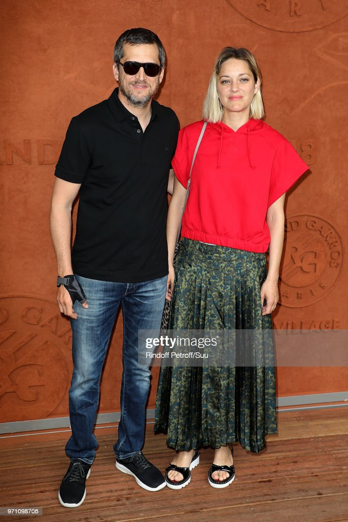 Actors Marion Cotillard And Husband Guillaume Canet Attend The