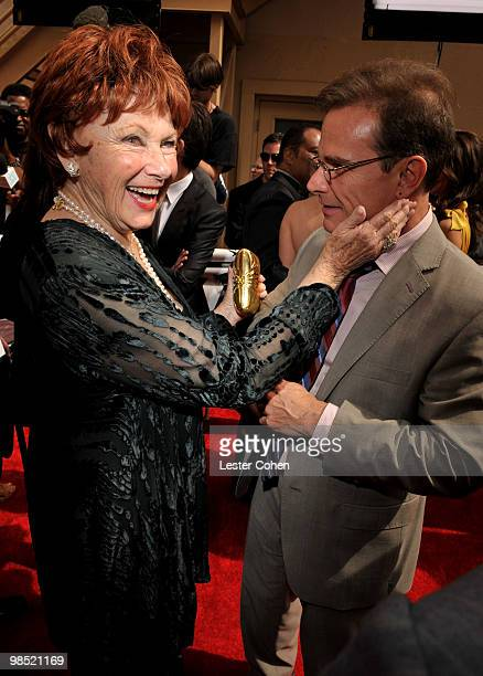 Actors Marion Ross and Peter Scolari arrive at the 8th Annual TV Land Awards at Sony Studios on April 17, 2010 in Los Angeles, California.