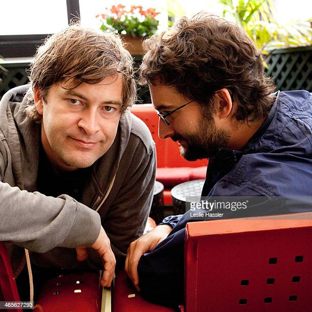 Actors Mark Duplass and Jay Duplass are photographed on June 10 2010 in New York City