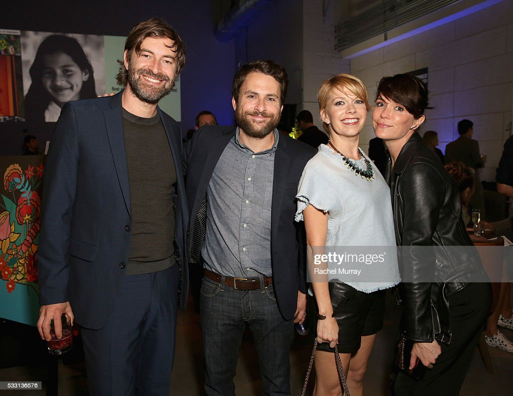 Actors Mark Duplass, Charlie Day, Mary Elizabeth Ellis and Katie Aselton attend the pARTy! - celebrating 25 years of P.S. ARTS on May 20, 2016 in Los Angeles, California.
