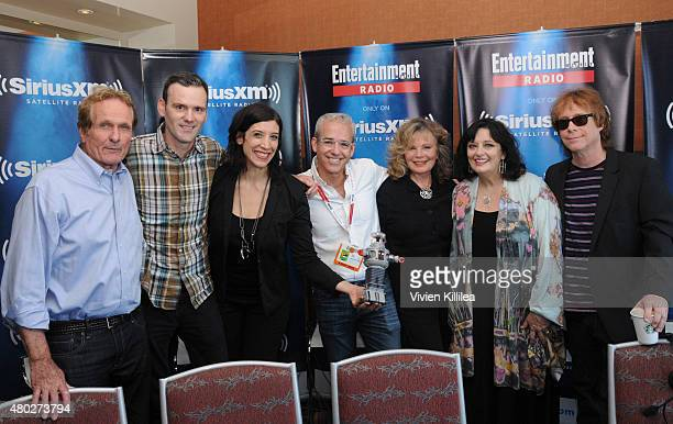 Actors Mark Goddard radio personalities Dalton Ross and Jessica Shaw editorial director of EW Jess Cagle and actors Angela Cartwright Marta Kristen...