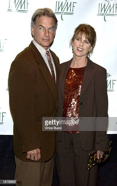 Actors Mark Harmon and wife Pam Dawber attend the 7th Annual Courage in Journalism Awards sponsored by the International Women's Media Foundation to...