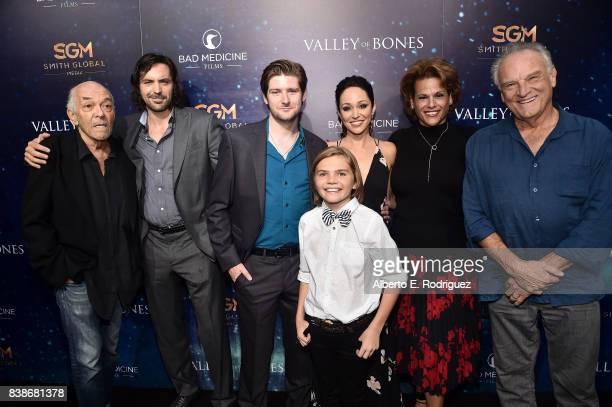 Actors Mark Margolis Rhys Coiro Steven Molony Mason Mahay Autumn Reeser Alexandra Billings and Bill Smitrovich attend the world premiere of 'Valley...
