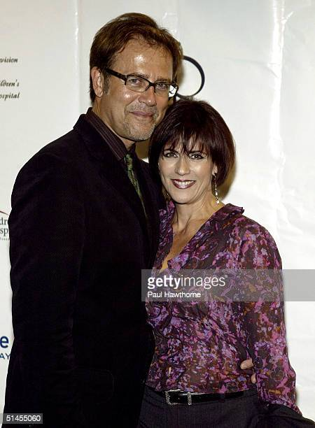Actors Mark Pinter and Colleen Zenk Pinter attend the 10th Annual Daytime Television Salutes St Jude Children's Research Hospital on October 8 2004...