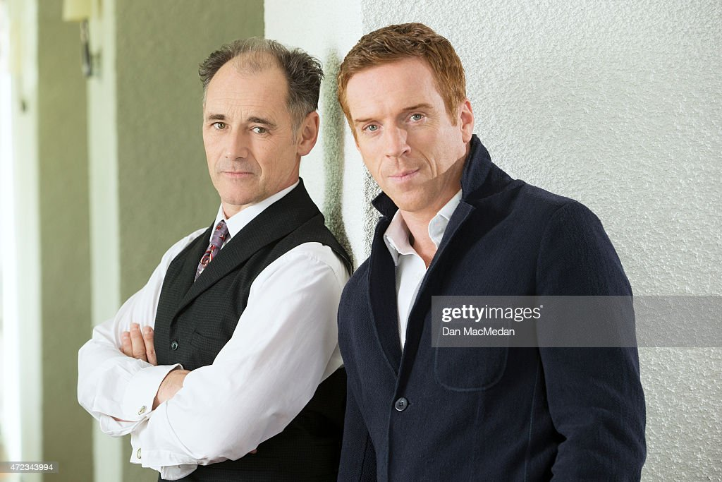 Mark Rylance and Damian Lewis, USA Today, April 2, 2015