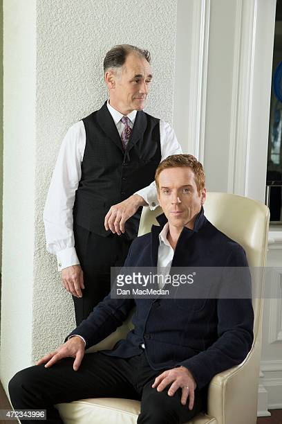 Actors Mark Rylance and Damian Lewis are photographed for USA Today on January 19 2015 in Pasadena California PUBLISHED IMAGE