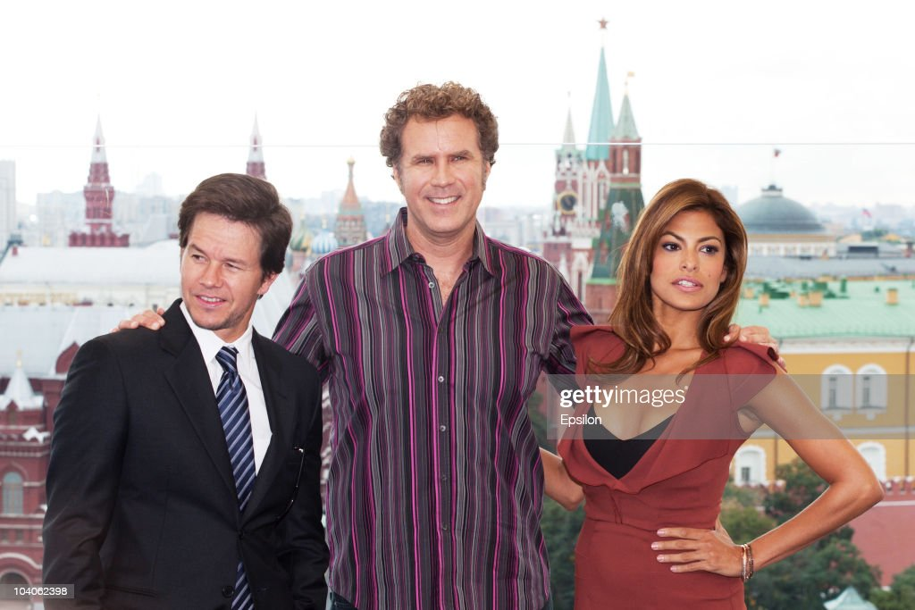The Other Guys Film Photocall In Moscow : Nachrichtenfoto