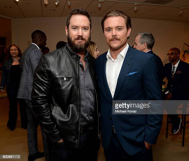 Actors MarkPaul Gosselaar and Clayne Crawford at The Paley Center for Media's 10th Annual PaleyFest Fall TV Previews honoring FOX's Lethal Weapon at...