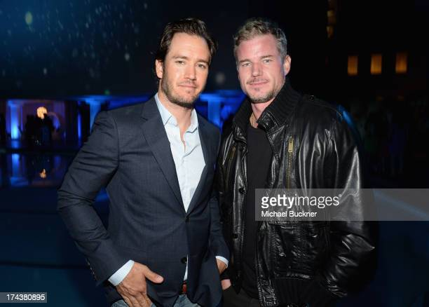 Actors Mark-Paul Gosselaar and Eric Dane attend TNT 25TH Anniversary Party during Turner Broadcasting's 2013 TCA Summer Tour at The Beverly Hilton...