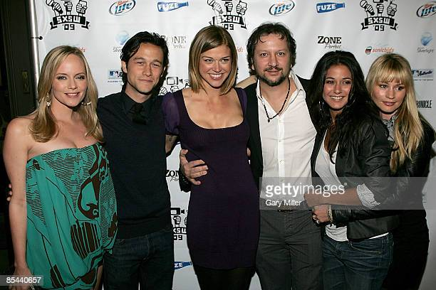 Actors Marley Shelton Joseph GordonLevitt Adrienne Palicki Director Sebastian Gutierrez Emmanuelle Chriqui and Cameron Richardson on the red carpet...