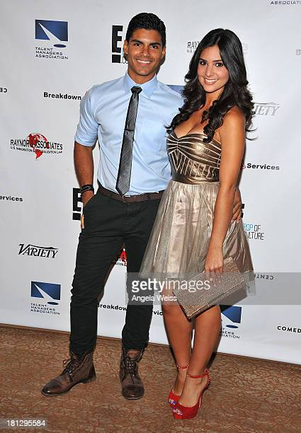 Actors Marlon Aquino and Camila Banus attend the 12th Annual Heller Awards at The Beverly Hilton Hotel on September 19 2013 in Beverly Hills...
