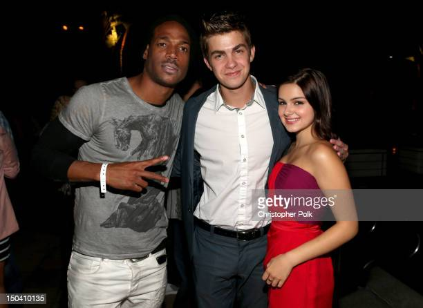 Actors Marlon Wayans, Cameron Palatas, and Ariel Winter attend the WWE SummerSlam VIP Kick-Off Party at Beverly Hills Hotel on August 16, 2012 in...