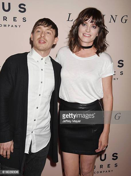 Actors Marshall Allman and Jamie Allman attend the premiere of 'Loving' at the Samuel Goldwyn Theater on October 20 2016 in Beverly Hills California