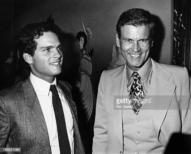 Actors Martin Hewitt and Don Murray attends the premiere party for Endless Love on July 16 1981 at Hisae's Restaurant in New York City