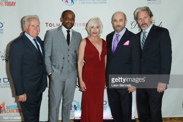 Actors Martin Sheen, Dulé Hill, Nancy Alspaugh-Jackson, Richard Schiff and Gary Cole attend the 13th Annual Denim, Diamonds And Stars at Four Seasons...