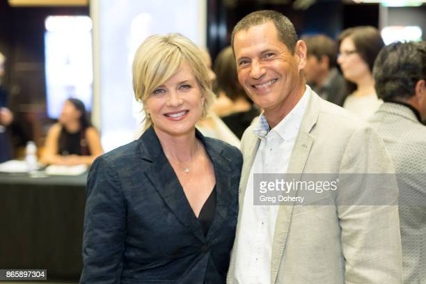Actors Mary Beth Evans and Thomas Calabro attend the Cast Premiere Screening Of Lany Entertainment's 'The Bay' Season 3 at TCL Chinese Theatre on...