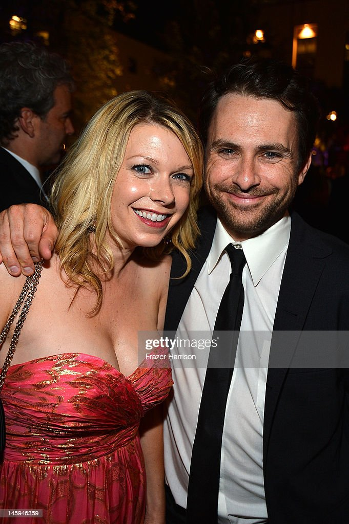 Actors Mary Elizabeth Ellis and Charlie Day attend the after party for the 40th AFI Life Achievement Award honoring Shirley MacLaine held at Sony Pictures Studios on June 7, 2012 in Culver City, California. The AFI Life Achievement Award tribute to Shirley MacLaine will premiere on TV Land on Saturday, June 24 at 9PM