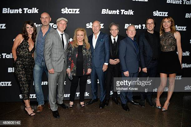 Actors Mary Holland Daniel Stewart writer Jonathan Ames actors Jacki Weaver Patrick Stewart Richard Lewis Adrian Scarborough Timm Sharp and Dolly...
