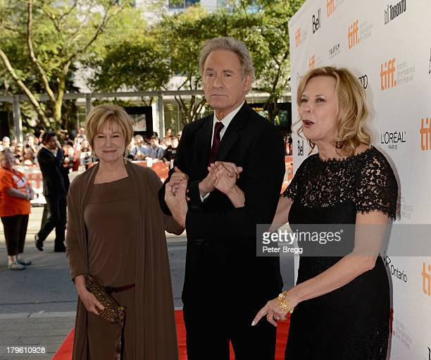 Actors Mary Kay PLace Kevin Kline and JoBeth Williams arrive for The Big Chill 30th Anniversary Screening at the 2013 Toronto International Film...