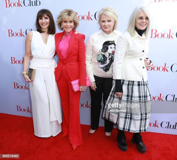 Actors Mary Steenburgen Jane Fonda Candice Bergen and Diane Keaton attends Paramount Pictures' Premiere Of Book Club Red Carpet at Regency Village...
