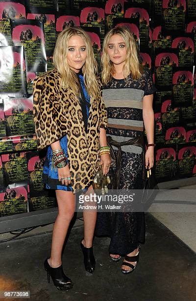 Actors MaryKate Olsen and Ashley Olsen attend Art of Elysium Bright Lights with VERSUS by Donatella Versace and Christopher Kane at Milk Studios on...