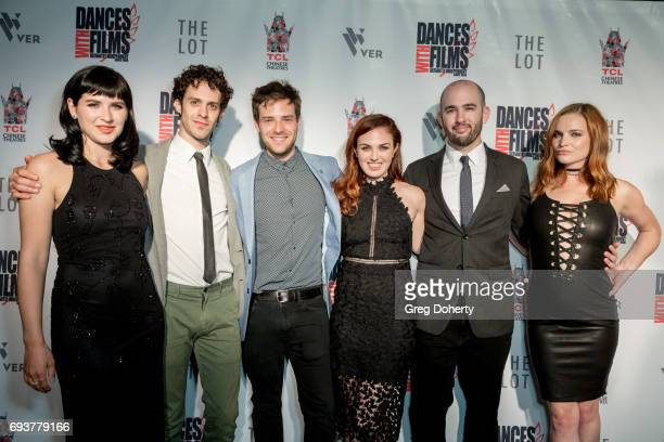 Actors Marzy Hart Jay DeYonker and Ben Rappaport Writer Producer and Actress Stacey Maltin Director Dani Tenenbaum and Actress Raeden Greer attend...