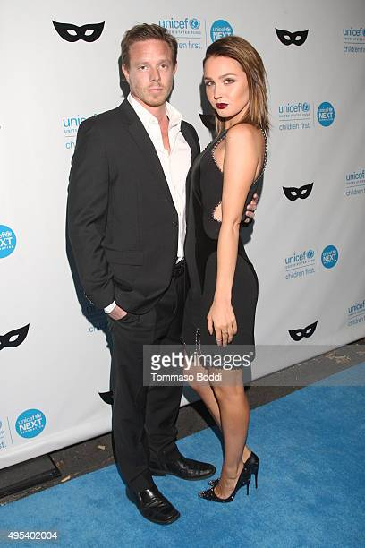 Actors Matt Alan and Camilla Luddington at the UNICEF Next Generation Third Annual UNICEF Black White Masquerade Ball benefiting UNICEF's lifesaving...