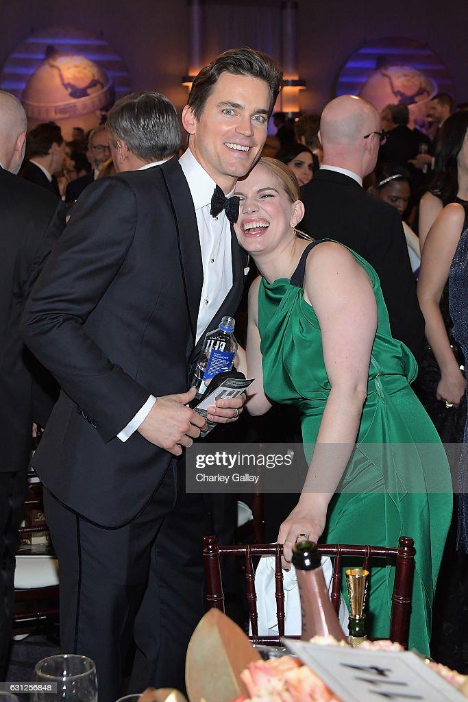 FIJI Water At The 74th Annual Golden Globe Awards : News Photo