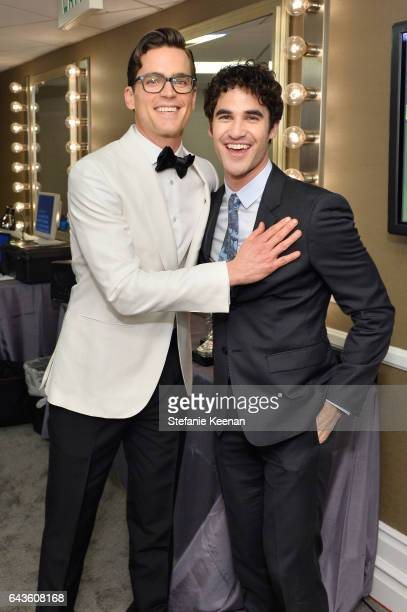 Actors Matt Bomer and Darren Criss attend The 19th CDGA with Presenting Sponsor LACOSTE at The Beverly Hilton Hotel on February 21 2017 in Beverly...