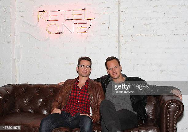 Actors Matt Bomer and Patrick Wilson attend Space Station 76 Party and press junket At De Nolet Presented By Ketel One Vodka on March 8 2014 in...