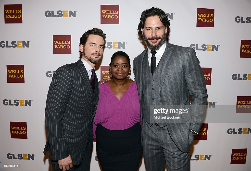 Actors Matt Bomer, Octavia Spencer and Joe Manganiello arrive at the 8th Annual GLSEN Respect Awards held at Beverly Hills Hotel on October 5, 2012 in Beverly Hills, California.