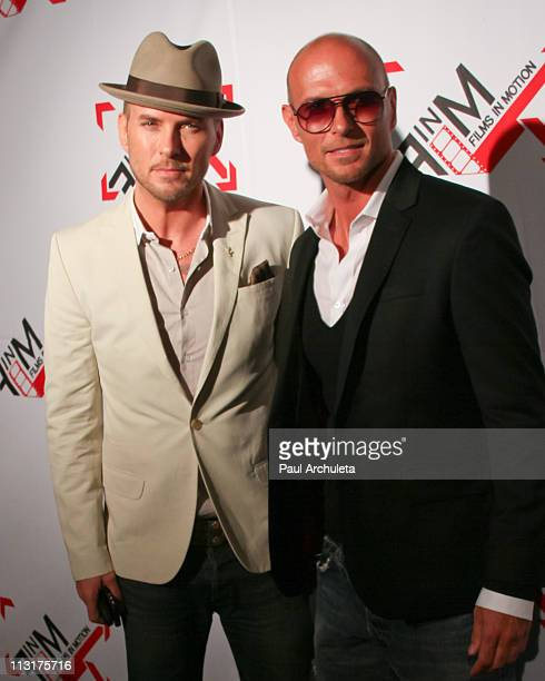 Actors Matt Goss and Luke Goss attend the 'Blood Out' Los Angeles premiere at the Directors Guild Of America on April 25 2011 in Los Angeles...