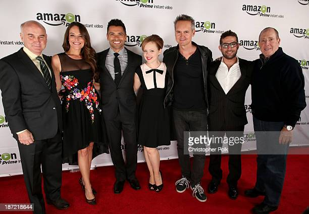 Actors Matt Malloy Yara Martinez Mark Consuelos Alicia Sable Director Amazon Studios Roy Price Joe Lewis Head of Original Programming at Amazon...