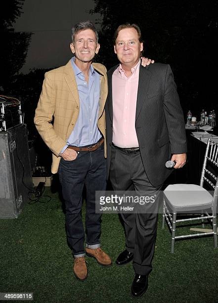 Actors Matt McCoy and Joel Murray attend the 7th Annual Dealing For Duchenne Gala at the Sony Pictures Studios on May 10 2014 in Culver City...