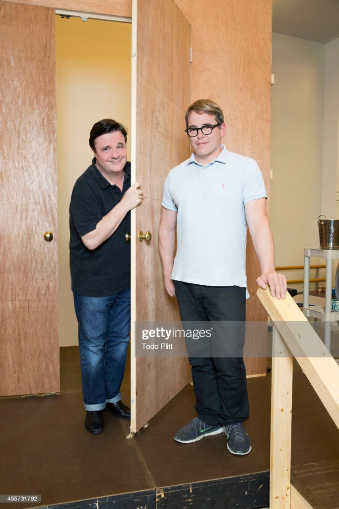 Matthew Broderick and Nathan Lane, USA Today, August 27, 2014