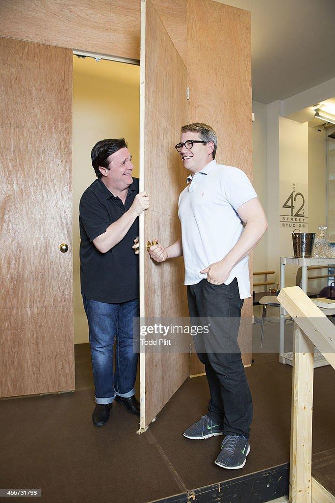 Matthew Broderick and Nathan Lane, USA Today, August 27, 2014