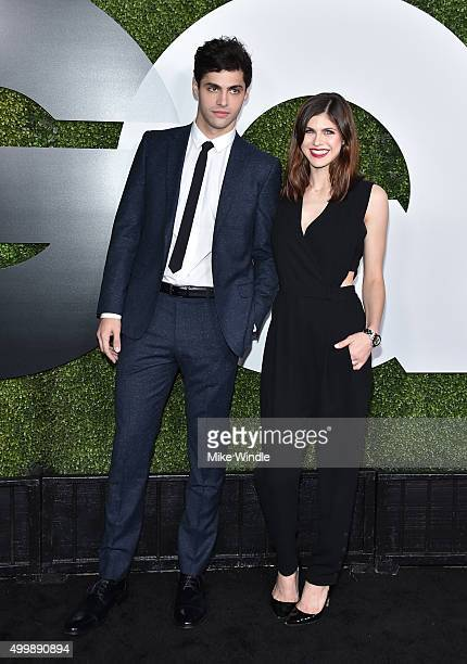 Actors Matthew Daddario and Alexandra Daddario attend the GQ 20th Anniversary Men Of The Year Party at Chateau Marmont on December 3 2015 in Los...