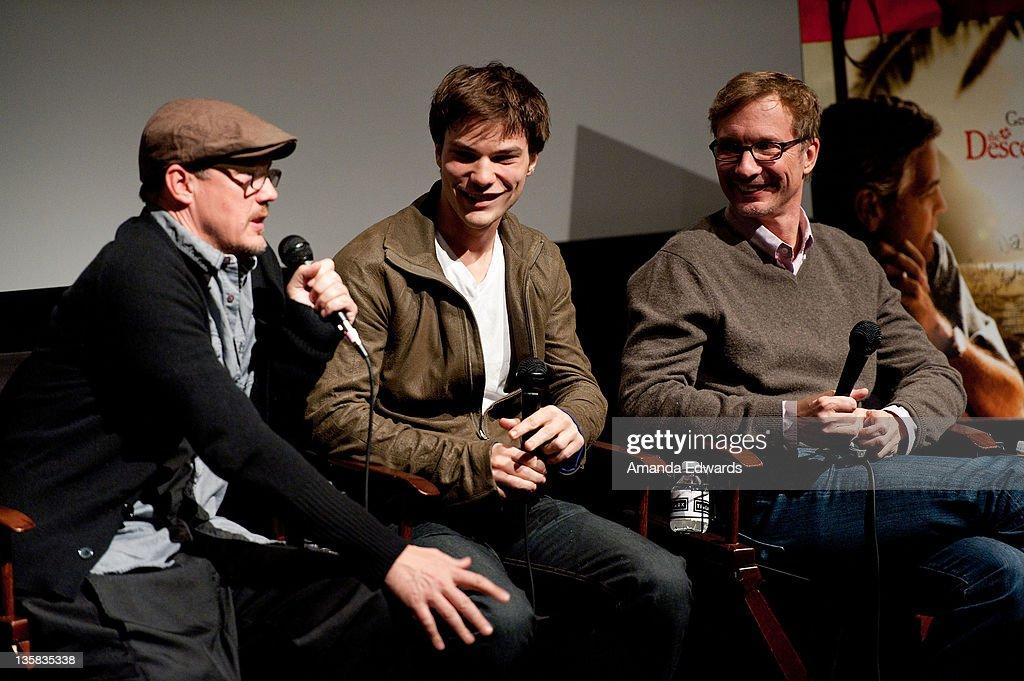 "TheWrap's Awards Season Screening Series Presents ""The Descendants"" - Q&A : News Photo"