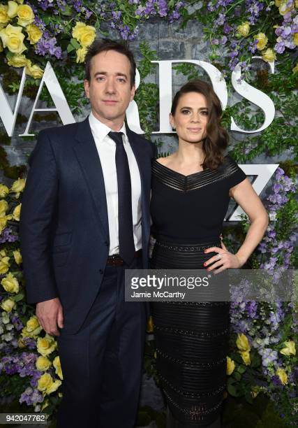 Actors Matthew MacFadyen and Hayley Atwell attend New York Red Carpet Premiere Screening Event of STARZ Howards End at the Whitby Hotel on April 4...