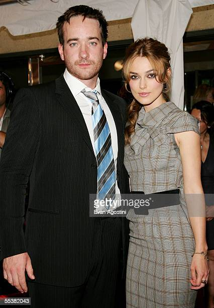 Actors Matthew MacFadyen and Keira Knightley attend the gala premiere of Pride Prejudice at Roy Thomson Hall during the Toronto International Film...