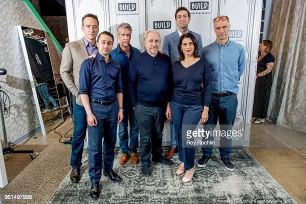 Actors Matthew Macfadyen Kieran Culkin Alan Ruck Brian Cox Hiam Abbass Nicholas Braun and writer/director Jesse Armstrong discuss Succession with the...