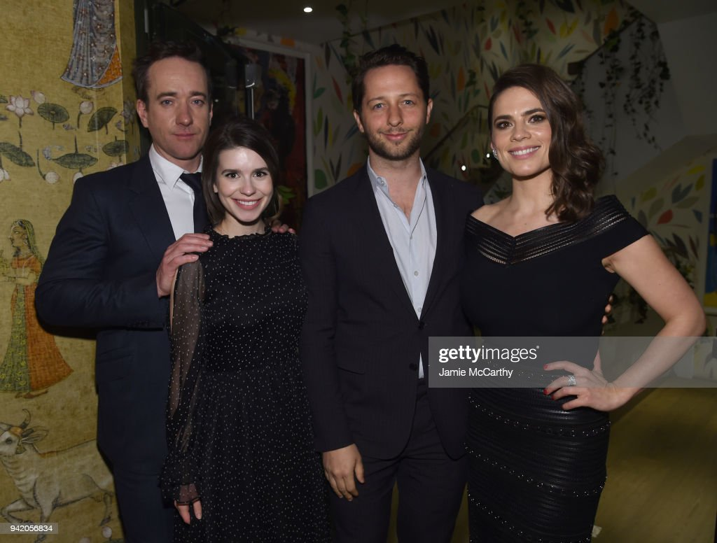 New York Red Carpet Premiere Screening Event Of STARZ 'Howards End' : ニュース写真